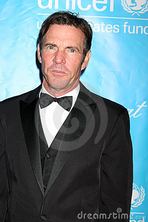 Dennis Quaid Editorial Photo