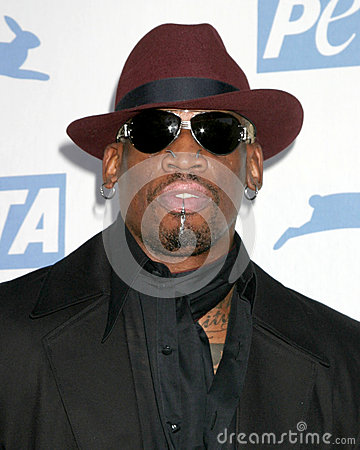 Dennis Rodman Editorial Photography