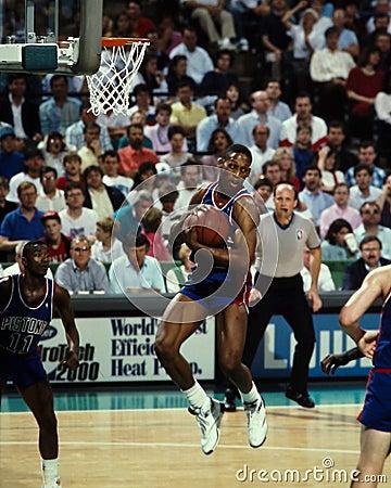 Dennis Rodman Detroit Pistons Editorial Image
