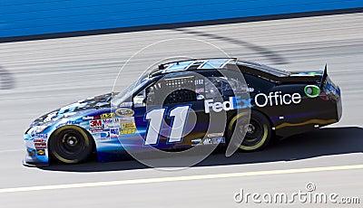 Denny Hamlin NASCAR Sprint Cup Driver Editorial Stock Image