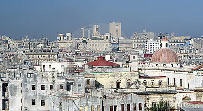 Dense Havana, Cuba