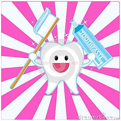 Dent souriante