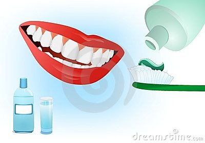 Dental care, cdr vector