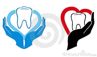 Dental Care Symbol Royalty Free Stock Image - Image: 22885096