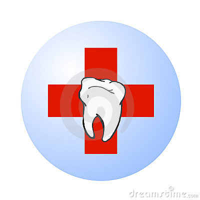 Dental care vector logo