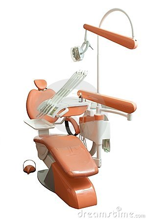 Dental chair in the office
