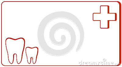 Dental clinic - visiting card