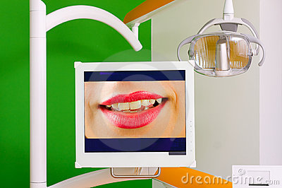 Dental equipment - LCD display