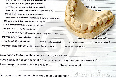 Dental history and Casting