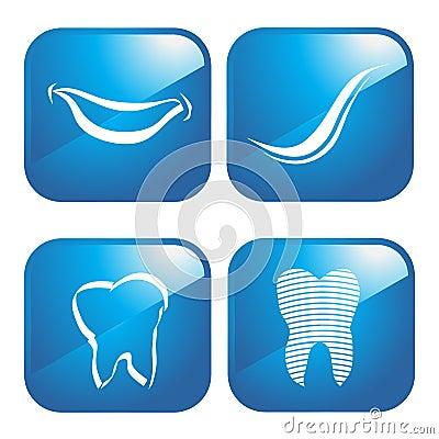 Dental icons logo