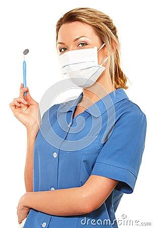 Dental Nurse Stock Photo - Image: 11098890