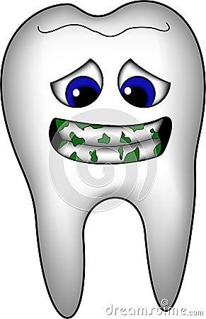 Dentes sujos