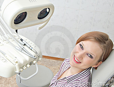 With a dentist