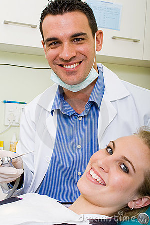 Free Dentist And Patient Stock Photo - 11099680