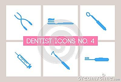 Dentist & Dental Icons No. 4