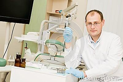 Dentist doctor man
