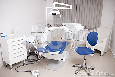 Dentist s chair in a medical room