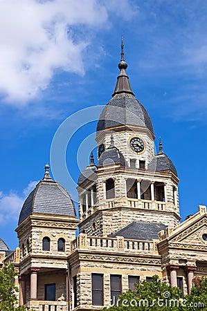 Free Denton County Courthouse In Denton, Texas Stock Image - 31794011