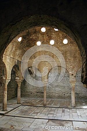 Dentro do Alhambra