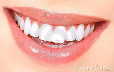 Dents de femme