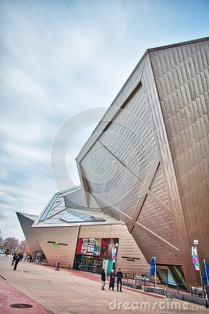 Free Denver Art Museum In Colorado Stock Images - 137061794