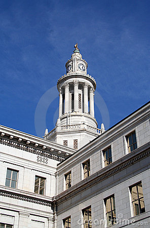Free Denver City And County Building - Denver, Colorado Royalty Free Stock Photos - 406618