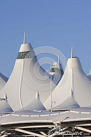 Denver International Airport Editorial Photography