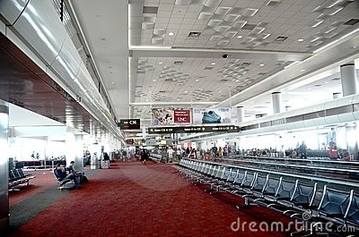 Denver international airport interior Editorial Photography