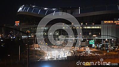 Denver Mile High Stadium, Colorado, Vereinigte Staaten stock video