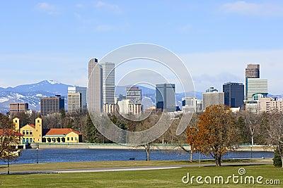 Denver Skyline Spring 2010
