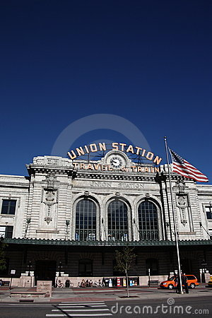 Denver - Union Station Editorial Photo