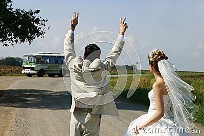 Depart dans la vie apres le mariage