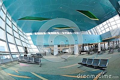 Departure hall of Marina Bay Cruise Center