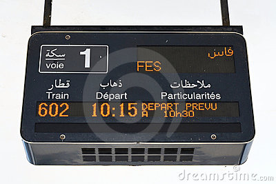 Departure to Fes - Morocco