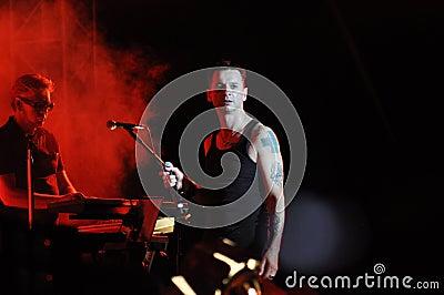 Depeche Mode Editorial Stock Image