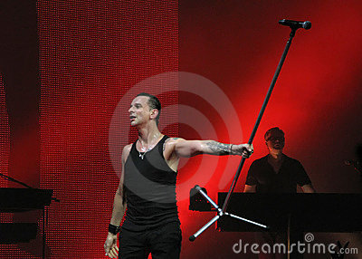 Depeche Mode Dave Editorial Image
