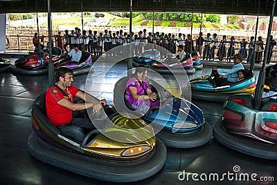 Deportes de la diversión de la aventura Foto editorial