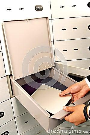 Deposit box  , deposit, box