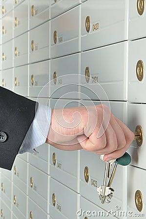 Deposit safe bank
