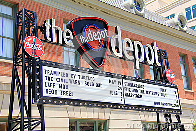 The Depot Editorial Photography