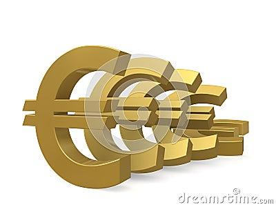 Depreciation of the euro