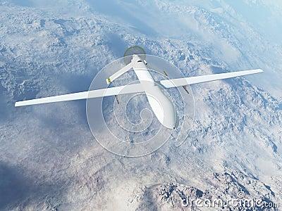 Depredador MQ-1 en vuelo