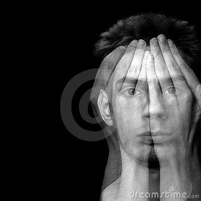 Free Depression And Fear Stock Images - 15053794