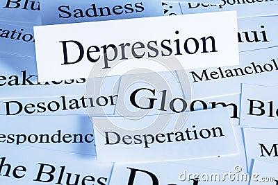 Depression Concept