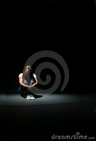 Free Depression From Away Royalty Free Stock Photography - 6501077
