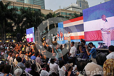 Deputy Thai Prime Minister Suthep Thaugsuban Editorial Photography
