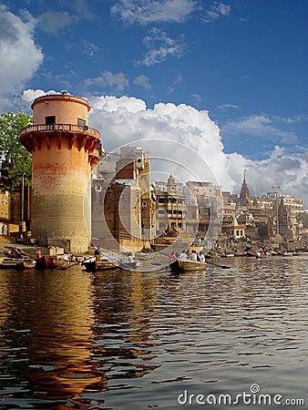 Der Fluss Ganga