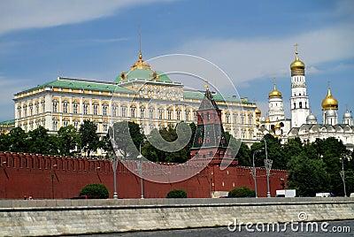 der gro artige der kreml palast in moskau stockfoto bild 45970850. Black Bedroom Furniture Sets. Home Design Ideas