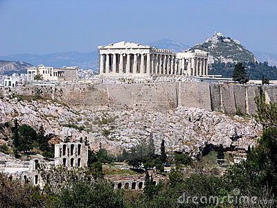 Der Parthenon, Athen