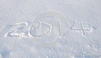 Der Schnee von 2014